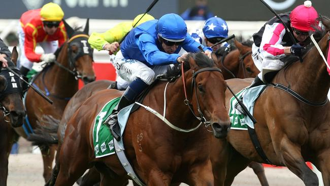 Osborne Bulls has gone agonisingly close to winning a Group 1. Picture: AAP
