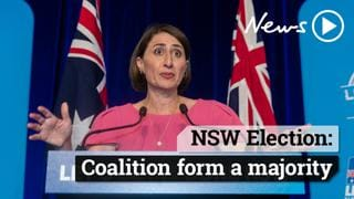 NSW Election: Coalition form a majority