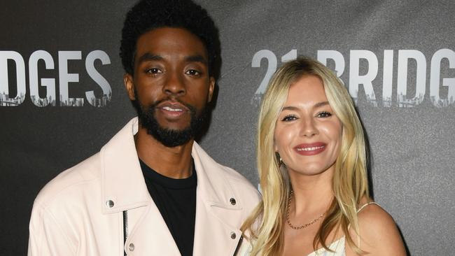 Sienna Miller says Chadwick Boseman donated part of his salary to her – NEWS.com.au