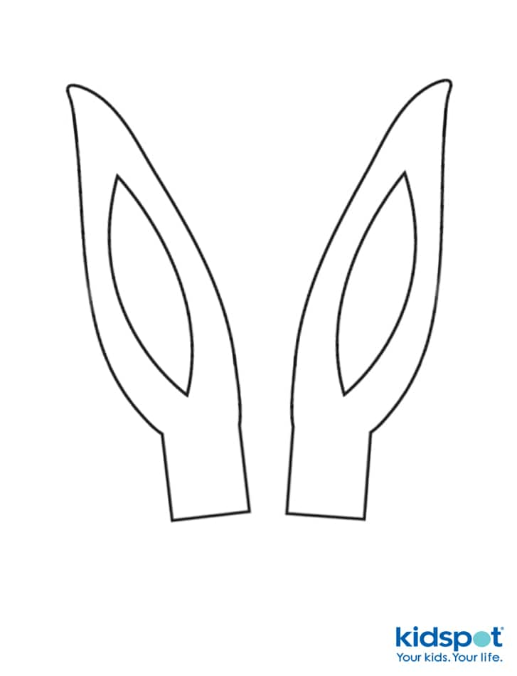 photo about Bunny Ear Template Printable titled How in the direction of generate Easter Bunny ears: No cost printable - Kidspot