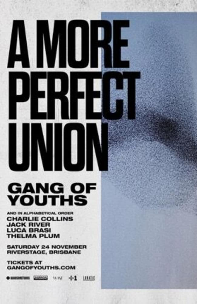 A More Perfect Union festival poster.