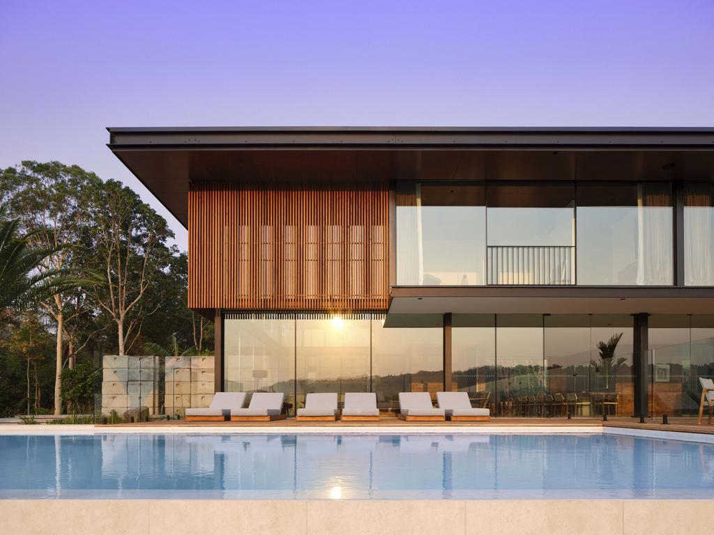 Soma is an exclusive 10 bedroom, 11 bathroom luxury retreat in the Byron Hinterland. Picture: Romello Pereira/ Soma Byron