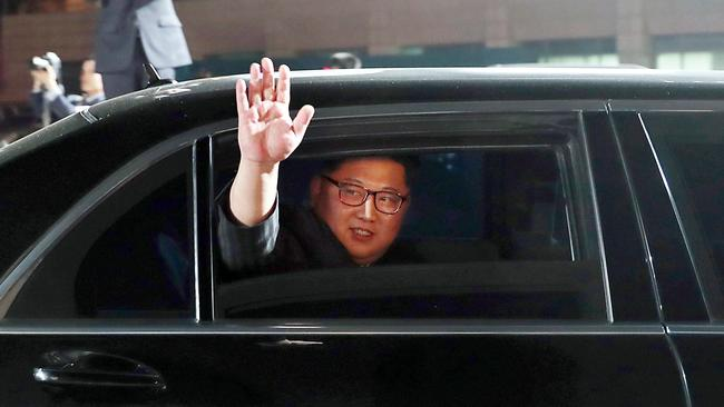 Questions have been raised as to whether Kim Jong-un is serious about relinquishing his nuclear weapons. Picture: AFP