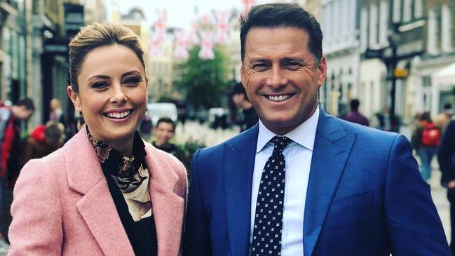 Allison Langdon and Karl Stefanovic could be the new hosts of Today next year.