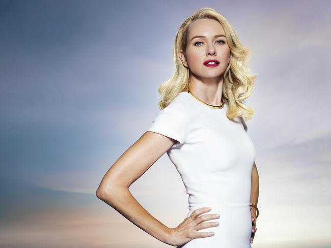 New campaign ... Actress Naomi Watts is the face of streaming service Presto. Picture: Supplied