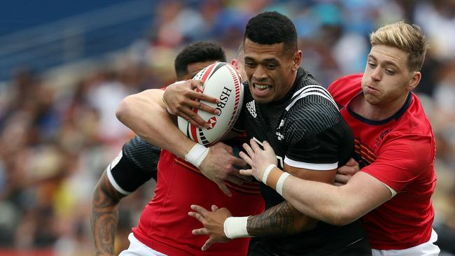 The Warriors have released Etene Nanai-Seturo from the final two years of his contract following his recent appearances for the New Zealand Sevens rugby team. Photo: Michael Bradley