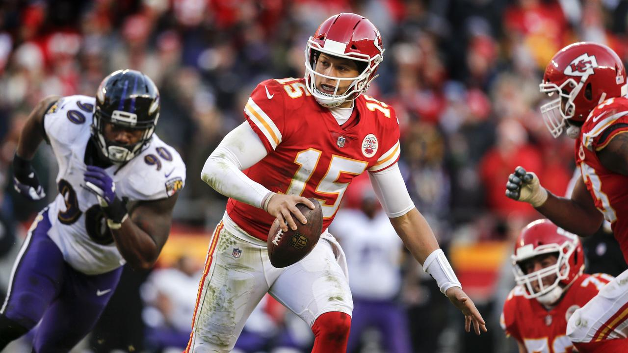 Patrick Mahomes isn't slowing down. David Eulitt/Getty Images/AFP