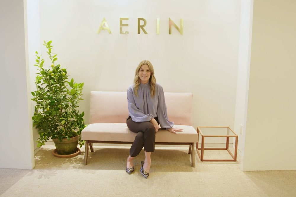 Watch: Aerin Lauder opens up her New York City office