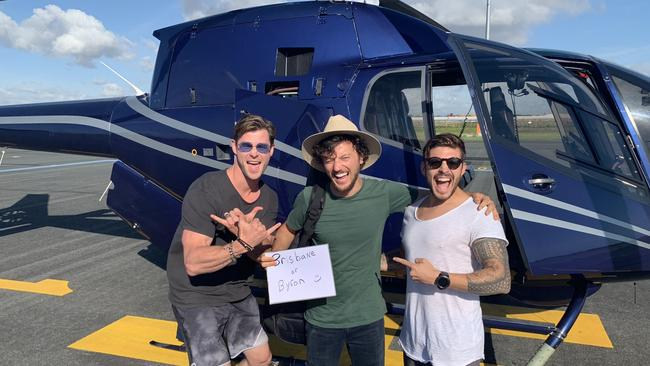 "Chris Hemsworth told the story of the prank while attending the launch of Tourism Australia's new ""Come Live Our Philausophy"" tourism campaign. Picture: Avmin Air Charter"