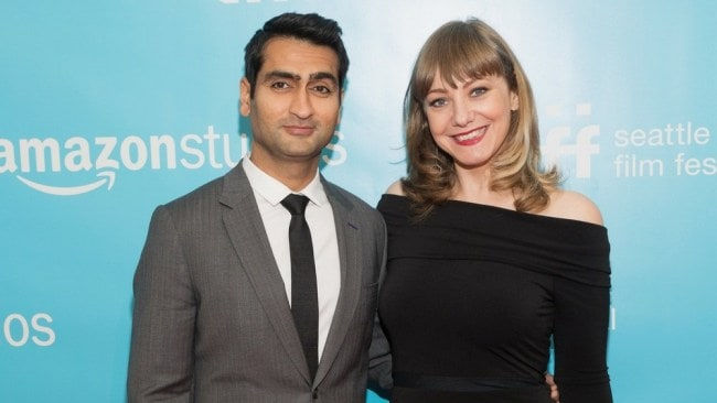 Kumail Nanjiani and Emily V. Gordon at the premiere of their film 'The Big Sick'. Photo: Getty