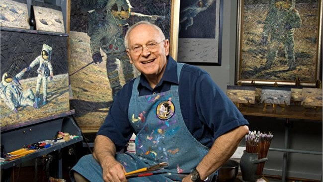Alan Bean painting.