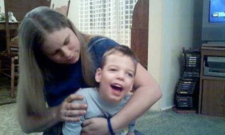 Miranda had to learn overnight how to care for her severely disabled son. Source: Miranda Core