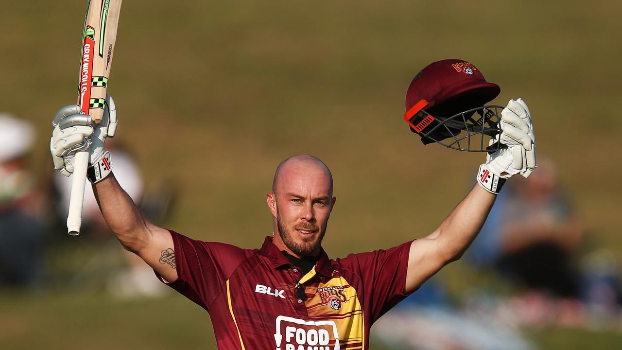 Chris Lynn was the JLT leading runscorer, but has been dropped for the ODI series against India.