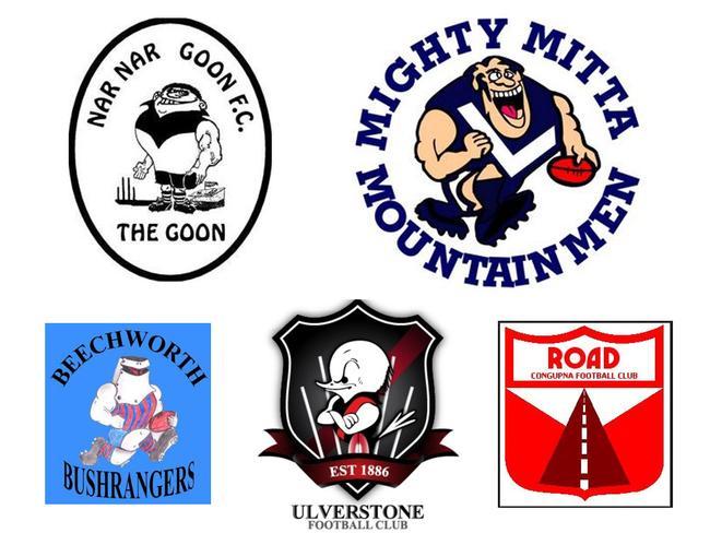 Australia's best footy club nicknames including the Yabbies
