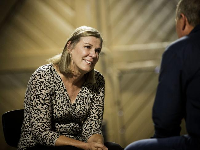 Sue said the experience of not being able to talk to Gary was intense and worth it. Picture: SBS
