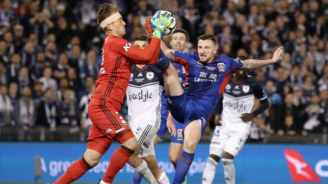 No A-League fan will forget this moment. (Cameron Spencer/Getty Images)