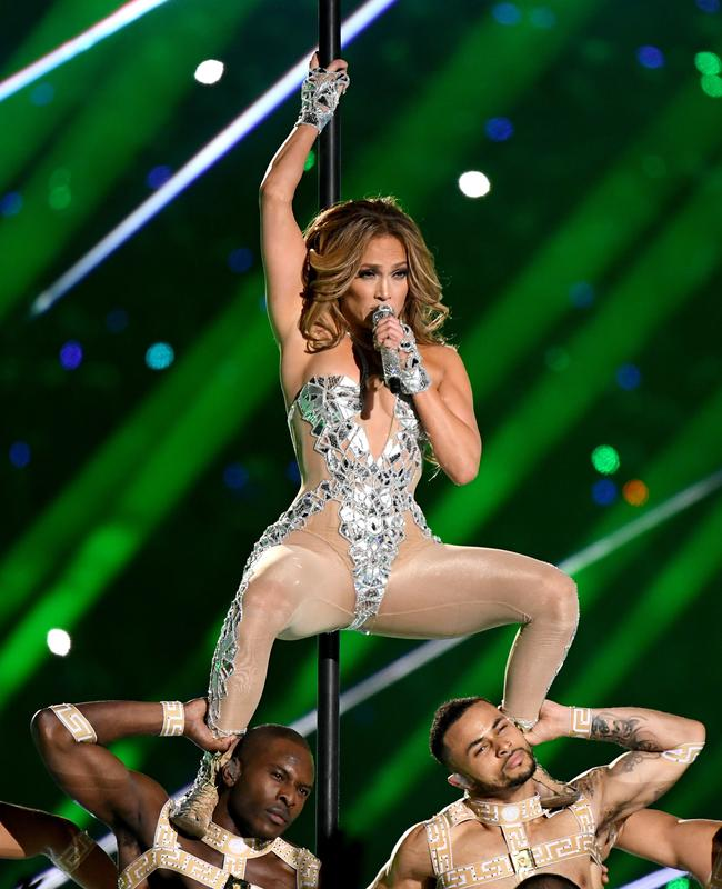Jennifer Lopez and her minions have upset some viewers. Picture: Kevin Winter/Getty Images/AFP