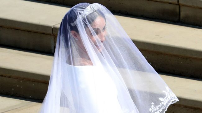 367d865a4d Emilia Wickstead Responds To Reported Salty Comments About Meghan s Dress