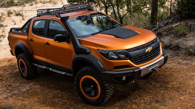 This is what Holden promised us with the 2016 concept ute. Picture: Supplied.