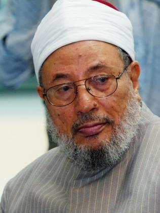 Sheik Yusuf Al-Qaradawi also lives in Qatar. Picture: Graeme Robertson/Getty Images