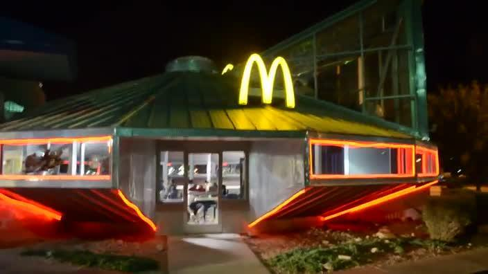 McDonalds UFO located in Roswell New Mexico