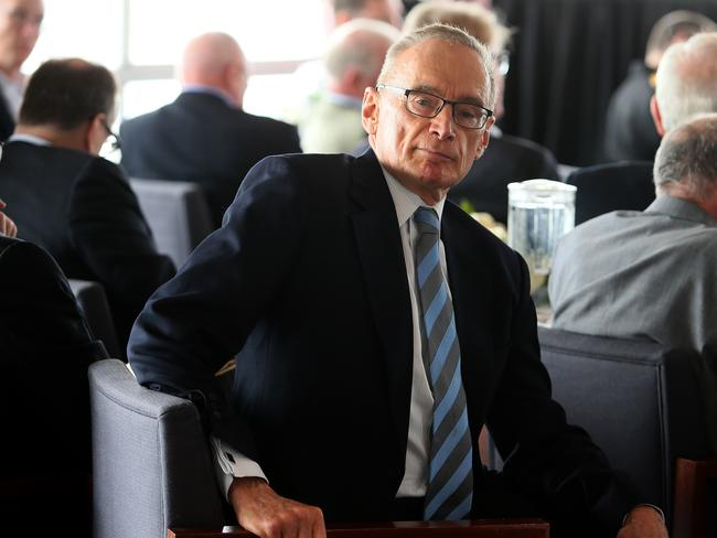 "Former Australian Foreign Minister Bob Carr says the spat between Donald Trump and Malcolm Turnbull is ""healthy"" for Australia. Picture: Colin Murty The Australian"