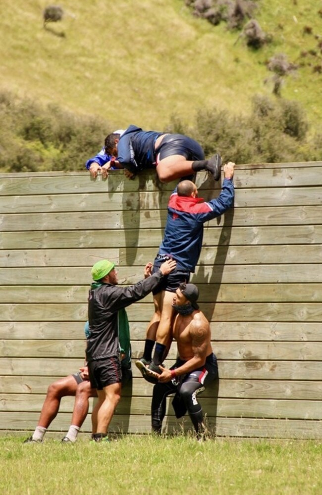 Up and over: Team building with the Chooks in Queenstown
