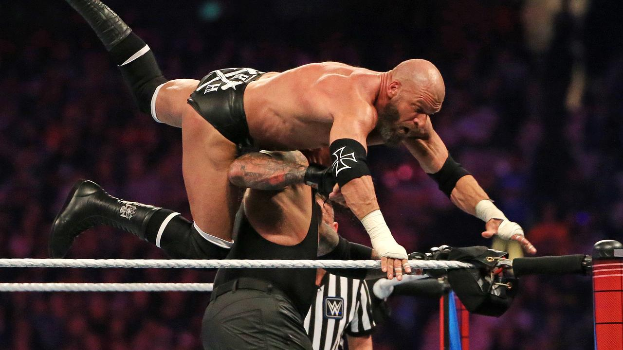 The WWE is in shutdown after a positive coronavirus test.