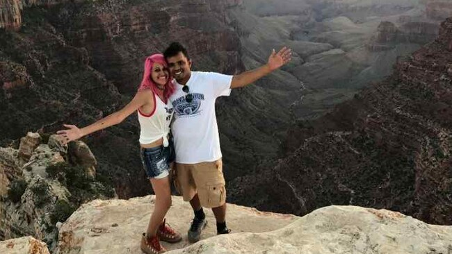 Meenakshi Moorthy, 30, and her husband Vishnu Viswanath plunged 800ft to their deaths at Yosemite National