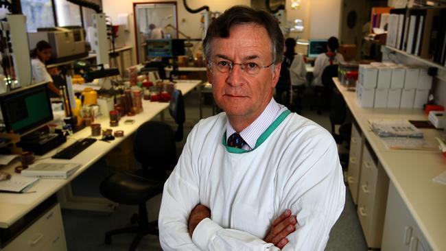 On alert ... Professor Peter Colignon said symptoms were similar to common colds.