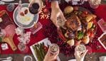 Christmas new year dinner group concept - Picture iStock