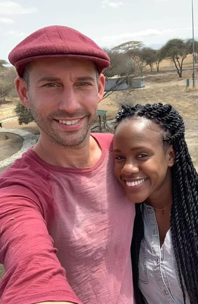 Steven Weber Jr was proposing to girlfriend Kenesha Antoine in Tanzania when he drowned. Picture: Facebook