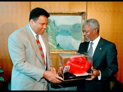 BOXING: Muhammad Ali Named United Nations Messenger of Peace in 1998 File September 15