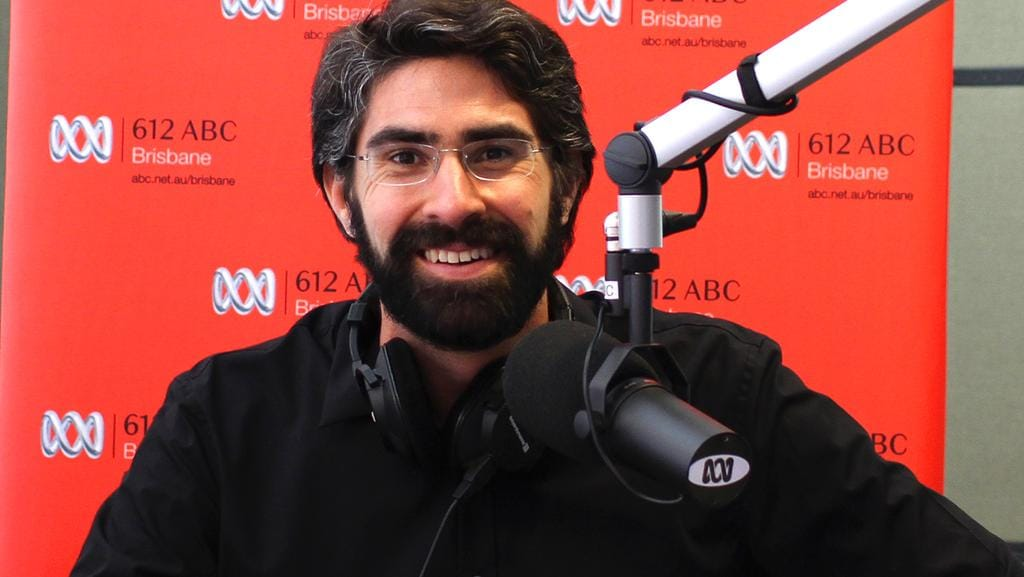 A Womans Interview With ABC Presenter David Curnow Was Rudely Interrupted