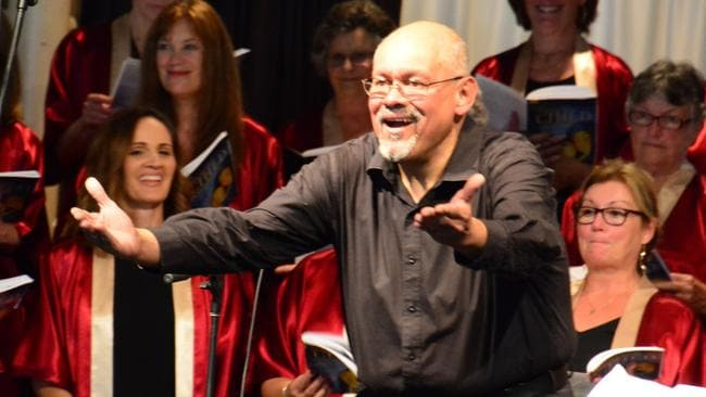 Sansoni honoured for contributions to church music