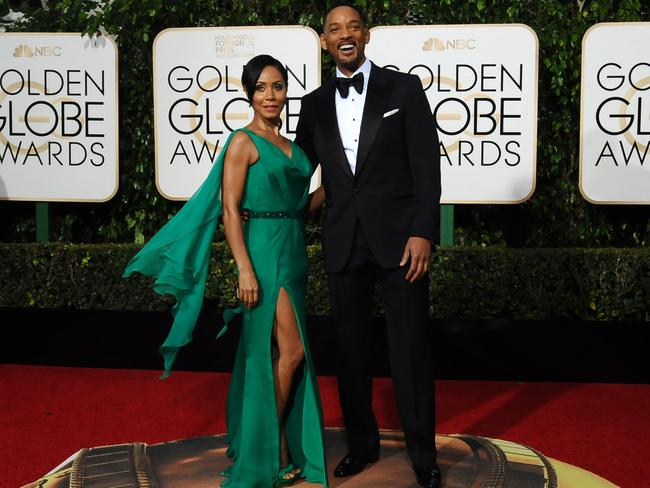 Jada Pinkett Smith and her husband Will Smith.