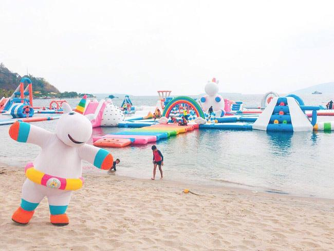 Welcome to your wildest dreams. Picture: Inflatable Island