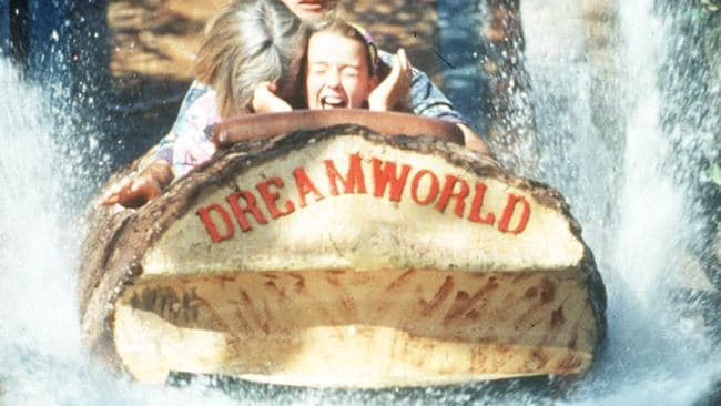 The log ride at Dreamworld is more than three decades old.