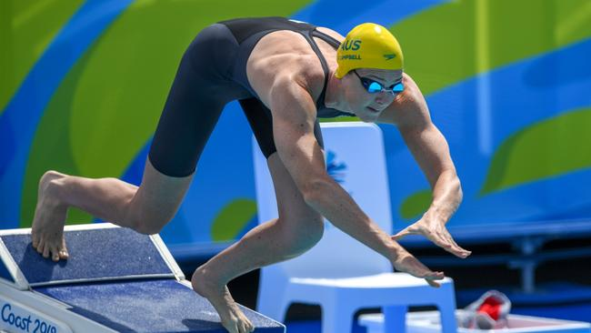 Cate Campbell will turn her attention to the 100m freestyle.