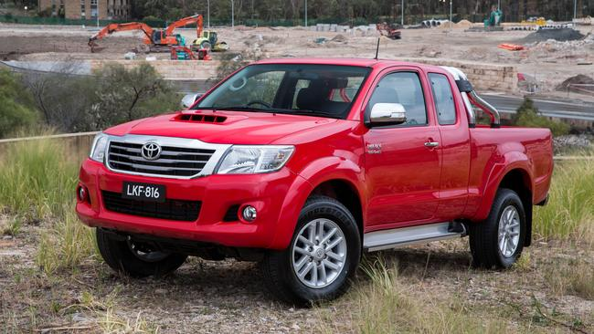 Australia's best selling new vehicle, the Toyota HiLux, is high on the thieves' hit list.