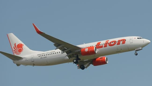 A Lion Air plane, similar to the one that crashed last week. Picture: Adek Berry/AFP