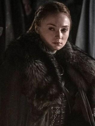 Sophie Turner as Sansa Stark. Picture: HBO