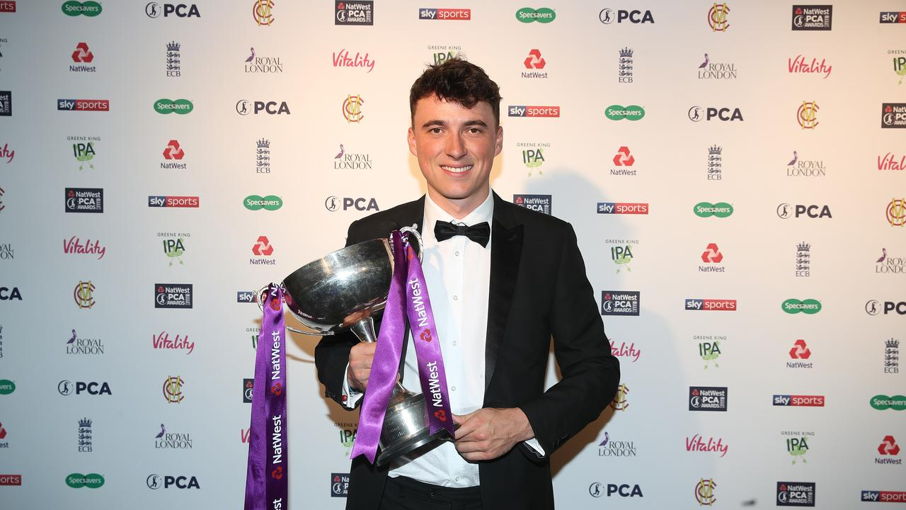 Tom Banton was adjudged the PCA Young Player of the Year for last northern summer