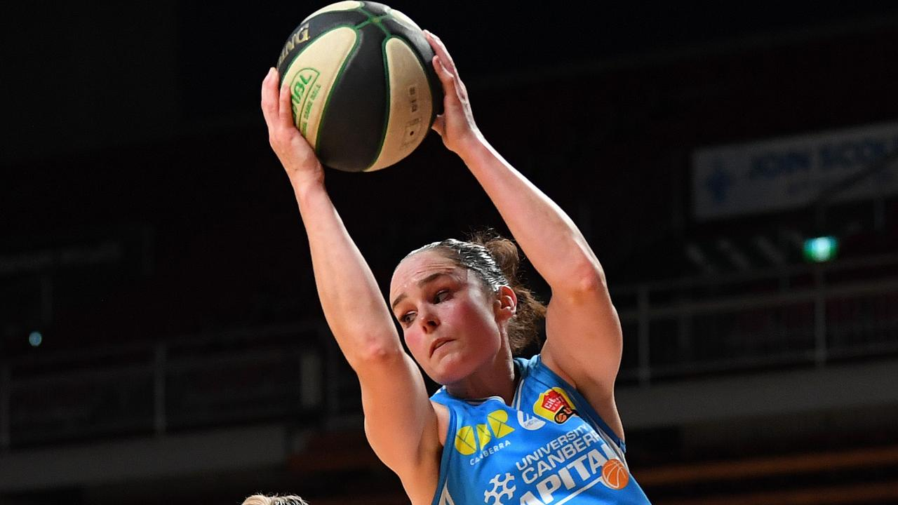 Capitals guard Kelly Wilson brings lots of finals experience. Picture: Tom Huntley
