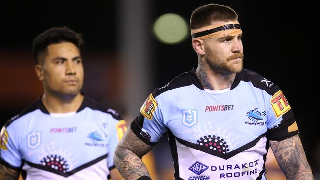 Josh Dugan wants to fight for his spot at the Sharks.