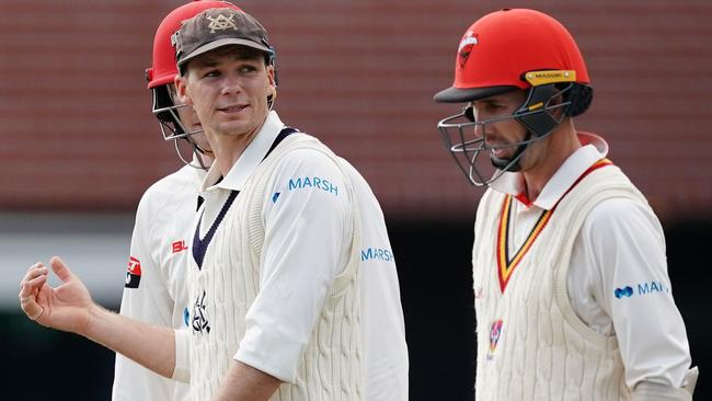 Victorian captain Peter Handscomb was eager to set up the opportunity for a result. Picture: AAP