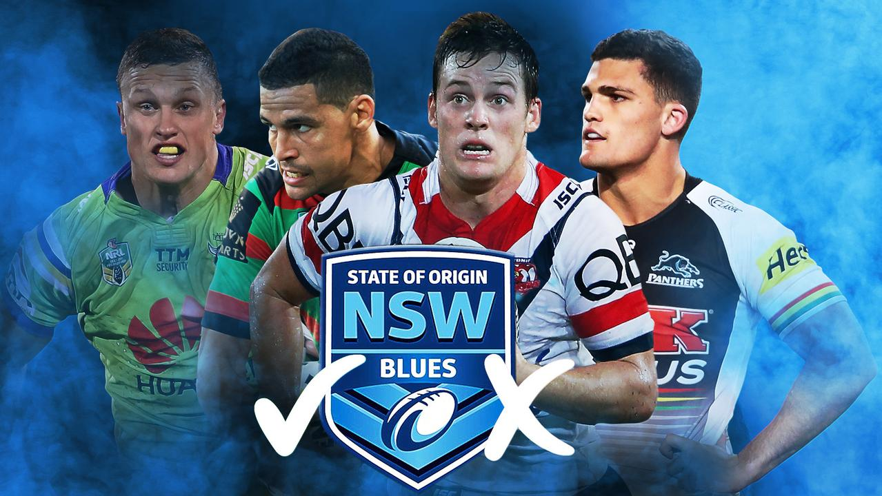 NSW Blues winners and losers.