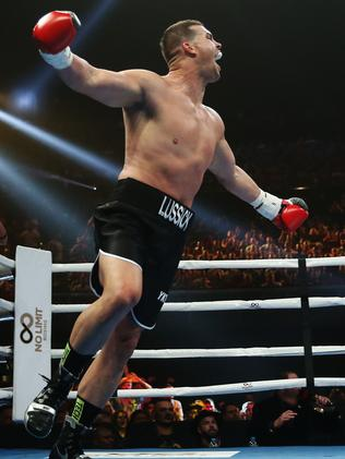 Darcy Lussick knocks out Justin Hodges, Tim Tszyu beats ...
