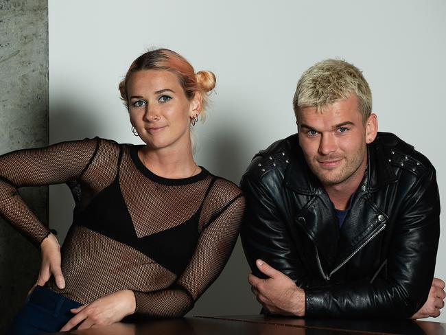 Broods new single Peach is scoring love from the Swifties. Picture: Monique Harmer.