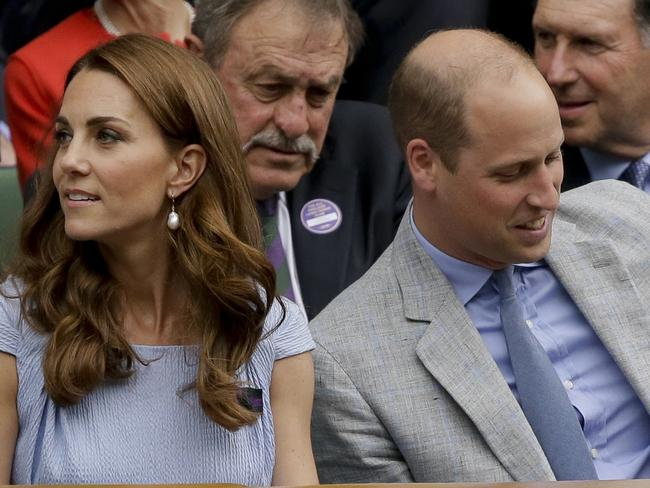 The royal couple. Picture: Tim Ireland/AP